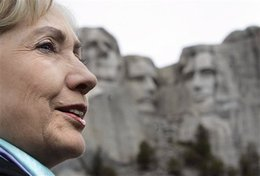 Hillary_at_rushmore